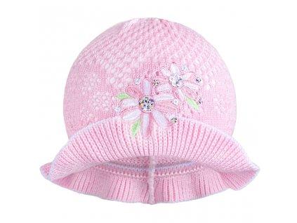 Pletený klobouček New Baby