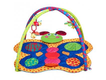 Hrací deka PlayTo motýlek - multicolor