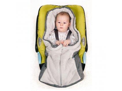 Luxusní zimní fusák New Baby Car