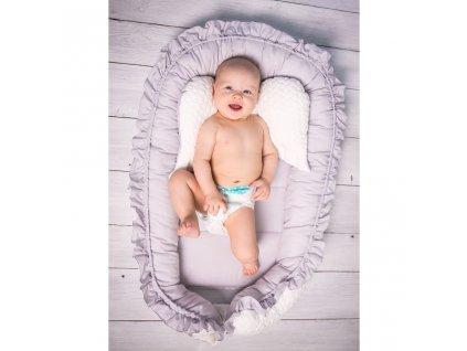 Luxusní hnízdečko pro miminko Belisima Králíček  + Nanopodložka, propiska, nebo desinfekce