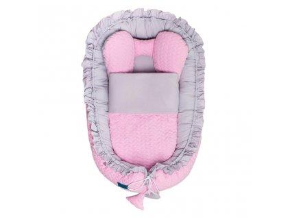 Luxusní hnízdečko s peřinkou pro miminko Belisima Králíček  + Nanopodložka, loupač, nebo desinfekce