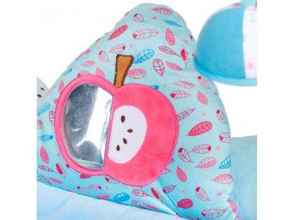 Luxusní hrací deka s melodií PlayTo Fox - modrá  + Dárek zdarma