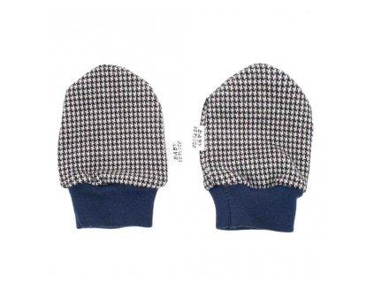 Zimní kojenecké rukavičky Baby Service Retro - šedá/0-6 m