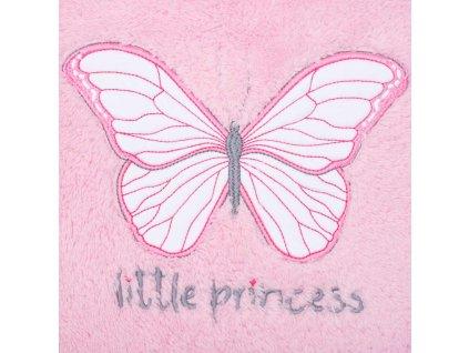 Dětská deka New Baby Little Princess 90x110 cm - růžová