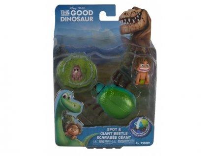 Hodný Dinosaurus - Špunt & Brouk - plastové postavičky malé