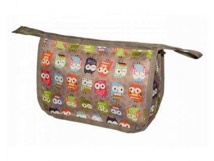My Bags - Cestovní set 3 v 1 se sovičkami  + Nanopodložka, loupač, nebo desinfekce