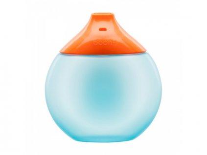 Boon - FLUID - Anatomický netekoucí hrneček - oranžovo-modrý