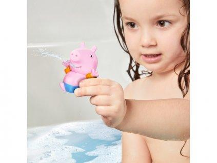 TOOMIES - Prasátko Peppa Pig, maminka a Tom - stříkající hračky do vody