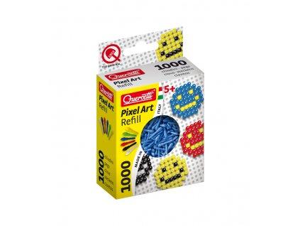 Quercetti Photo Pixel Art 1000 náhradní kolíčky modré