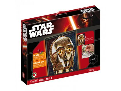 Quercetti Pixel Art 9 Star Wars C-3PO  + Dárek zdarma