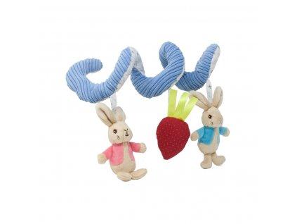 Rainbow Chrastítko spirála Flopsy Bunny Activity