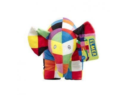 Rainbow Plyšová hračka slon Elmer velký