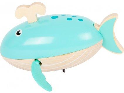 Small Foot Vodní hračka velryba