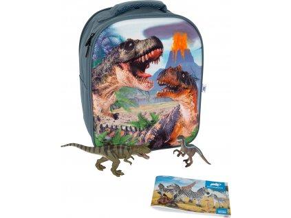 Animal Planet 3D batoh Dinosauři  + Nanopodložka, loupač, nebo desinfekce