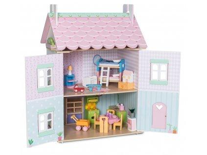Le Toy Van Domeček Sweetheart Cottage  + Nanopodložka, loupač, nebo desinfekce