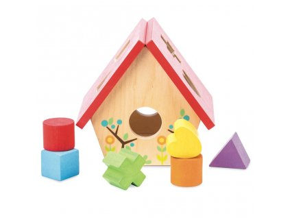 Le Toy Van Petilou Ptačí budka s tvary