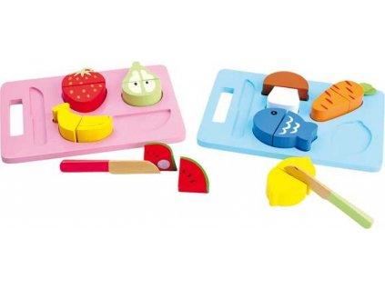 Small Foot Dřevěné hračky krájecí všehochuť