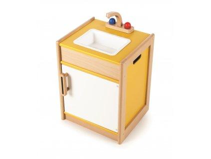 Tidlo Kuchyňský dřez  + Nanopodložka, loupač, nebo desinfekce