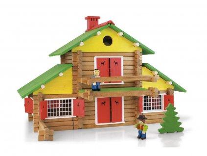 Jeujura Dřevěná stavebnice 240 dílů  + Dárek zdarma