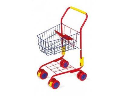 Small Foot Nákupní vozík červený