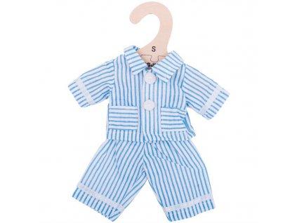 Bigjigs Toys Modré pyžamo pro panenku 28 cm