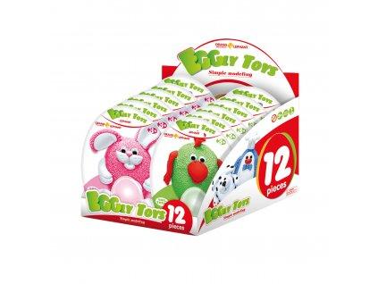 Small Foot Modelovací zvířatka Eggry Toys 12 ks