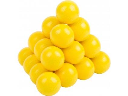 Small Foot Barevný hlavolam 1ks žluté kuličky Small Foot Barevný hlavolam 1ks žluté kuličky