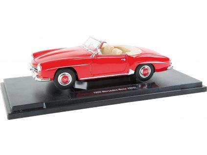 Small Foot Mercedes-Benz 190 SL (1955) model 1:18 červený  + Nanopodložka, loupač, nebo desinfekce