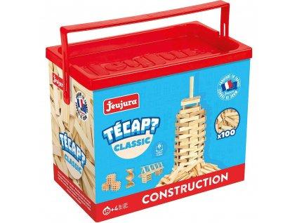 Jeujura Dřevěná stavebnice Técap Classic 100 dílů