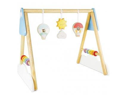 Le Toy Van Petilou Hrazdička Baby  + Nanopodložka, propiska, nebo desinfekce