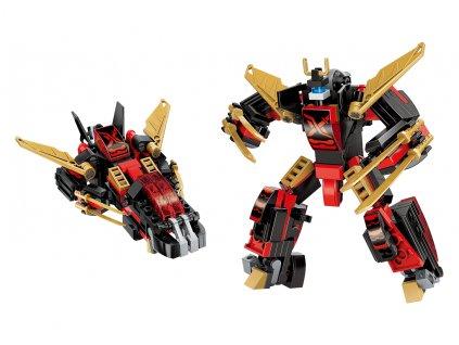 "Qman Guardian of Star's Core 3105-4 Robot ""Ninja"" 2v1"