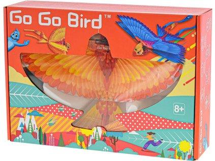 RC Ptáček Go Go Bird žlutý 28cm na vysílačku 2,4GHz létá na baterie USB  + Nanopodložka, loupač, nebo desinfekce