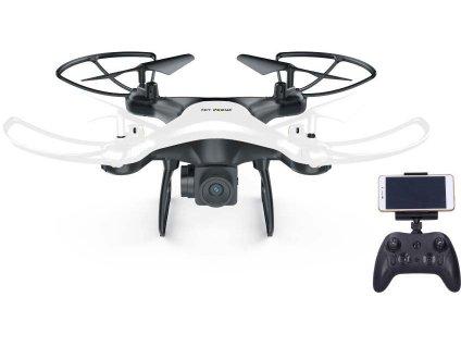 RC Dron vznášedlo s WiFi HD kamerou 2,4GHz na baterie na vysílačku  + Dárek zdarma