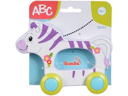 SIMBA Baby zvířátko na kolečkách na setrvačník různé druhy plast