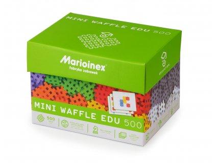 Marioinex MINI WAFLE – 500 ks Vzdělávací  + Nanopodložka, loupač, nebo desinfekce