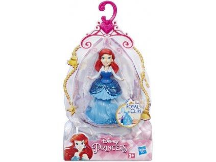 HASBRO Disney Princess panenka 9cm mini princezna 4 druhy
