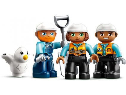 LEGO DUPLO Demolice na staveništi 10932 STAVEBNICE  + Dárek zdarma