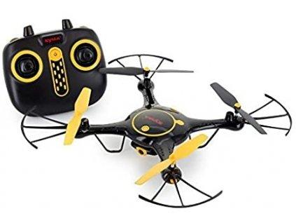 SYMA X5UW - WIFI-HD kamera + barometr + super ovládání telefonem ČERNÁ  + Nanopodložka, loupač, nebo desinfekce