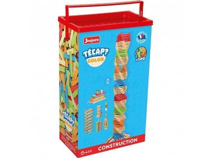 Jeujura Dřevěná stavebnice Técap Color 300 dílů  + Nanopodložka, loupač, nebo desinfekce