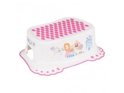 Dětské protiskluzové stupátko do koupelny Malá Princezna