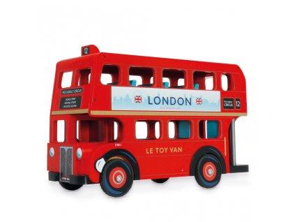 Le Toy Van Autobus London  + Nanopodložka, loupač, nebo desinfekce