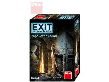 DINO Hra úniková Exit - Zapovězený hrad *SPOLEČENSKÉ HRY*
