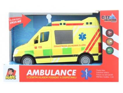 Ambulance na baterie
