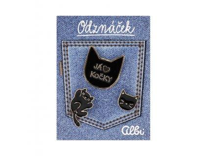 Odznáček - Kočka