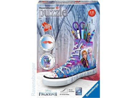 RAVENSBURGER Puzzle 3D Kecka Frozen 2 stojánek na tužky 108 dílků