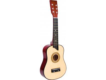 Small Foot Dětská hračka dřevěná kytara přírodní