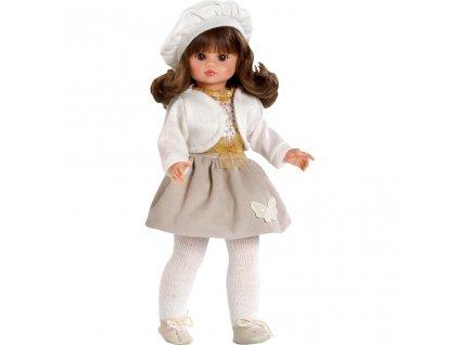 Luxusní dětská panenka-holčička Berbesa Roberta 42cm - béžová  + Nanopodložka, propiska, nebo desinfekce