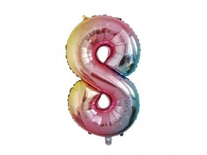 Nafukovací balónky čísla - 8