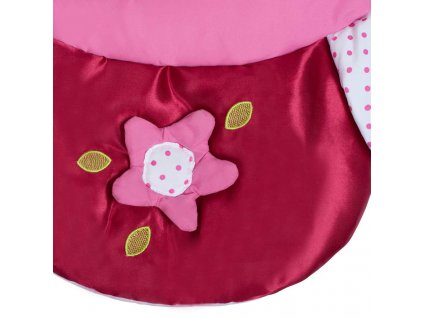 Hrací deka PlayTo kytička - růžová