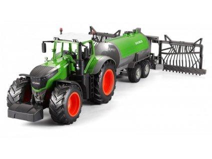 Traktor s funkční kropící cisternou 1/16  + Nanopodložka, loupač, nebo desinfekce